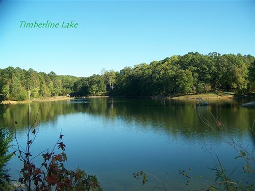 Timberline Lake Front Land Between : Savannah : Hardin County : Tennessee