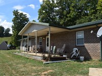 East Tennessee Country Home : Tazewell : Claiborne County : Tennessee