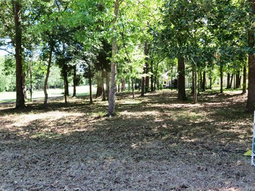 Beautiful Wooded Golf Course Lot : Bullard : Cherokee County : Texas