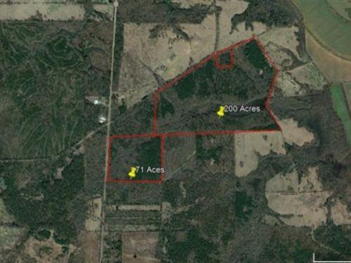 Hunting / Recreational Northeast : De Kalb : Bowie County : Texas