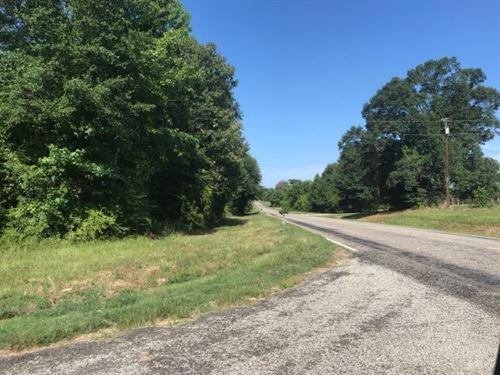 Recreational / Hunting Property : De Kalb : Bowie County : Texas