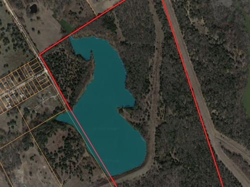 Recreational Waterfront Land Waco : Elm Mott : McLennan County : Texas