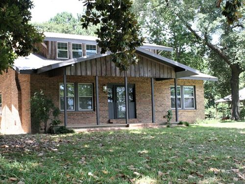 Country Home Small Acreage, East Tx : Frankston : Anderson County : Texas