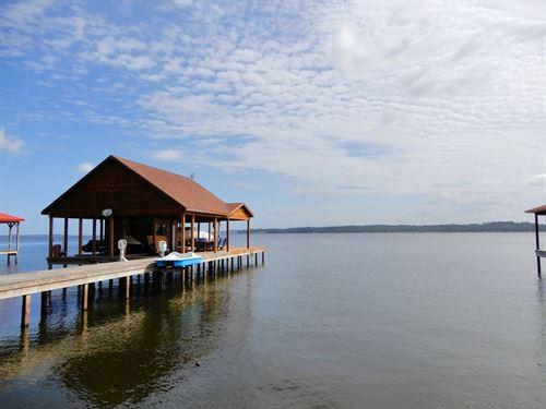 Waterfront Lot, Boathouse, Rv : Frankston : Henderson County : Texas