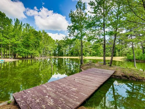40 East TX Acres, Country Home : Leesburg : Upshur County : Texas