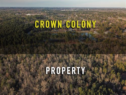 210 Acres Developement Land Beside : Lufkin : Angelina County : Texas