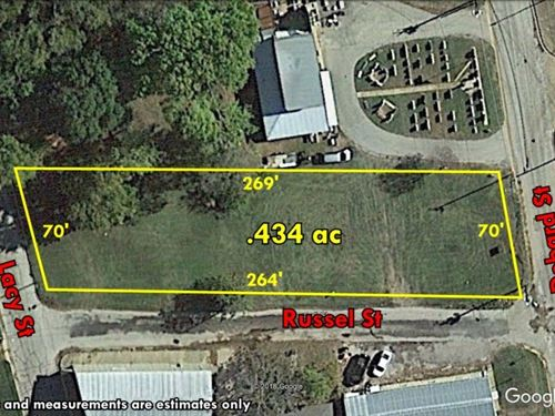 Great Commercial Lot Surrounded 3 : Palestine : Anderson County : Texas