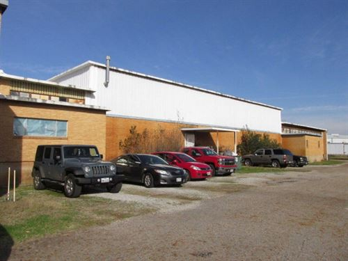 Commercial Industrial Building : Palestine : Anderson County : Texas
