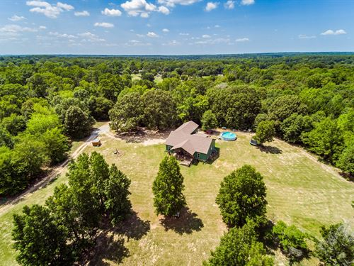2016 Custom Country Home East Texas : Quitman : Wood County : Texas