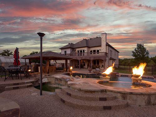 East Texas Luxury Ranch Terrell : Terrell : Kaufman County : Texas