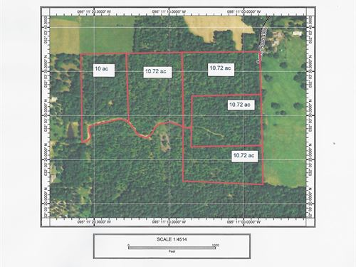 East Texas Land For Sale : Troup : Cherokee County : Texas
