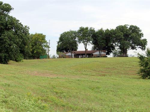 Over 84 East Texas Acres, Stocked : Winnsboro : Wood County : Texas