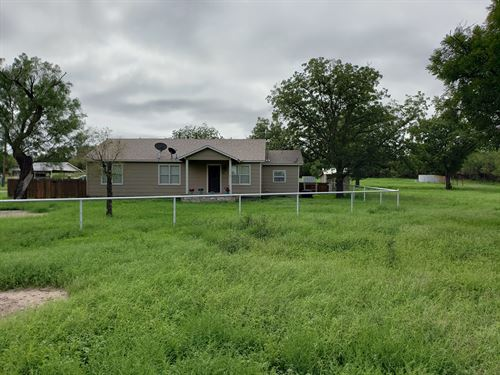 Country Home One Acre Sherwood : Mertzon : Irion County : Texas