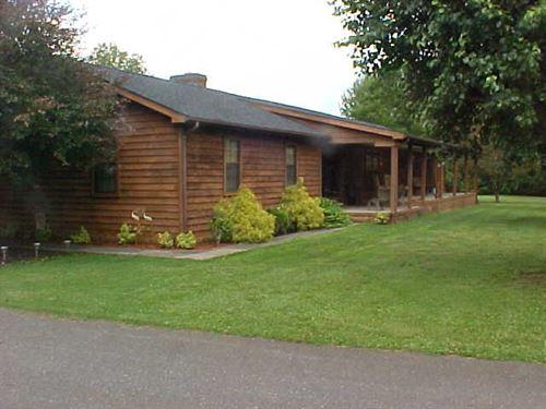 Home, 23.4 Acres-Rv Park 20 Spaces : Axton : Pittsylvania County : Virginia