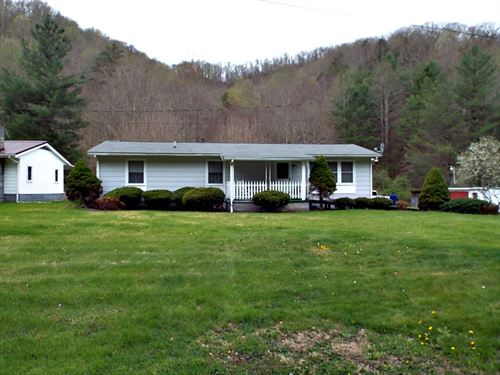Home With Land in Bandy, VA : Bandy : Tazewell County : Virginia