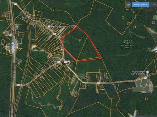 Acreage Minutes To Kerr Lake, VA : Clarksville : Mecklenburg County : Virginia