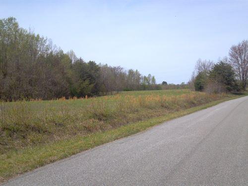 Long Road Frontage in Danville VA : Danville : Pittsylvania County : Virginia