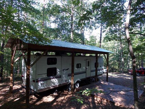 Wooded Lot Camper Philpott Lake : Ferrum : Patrick County : Virginia