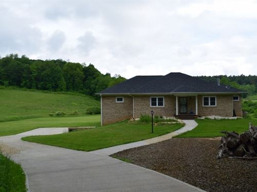 Custom Home Acreage in Floyd VA : Floyd : Virginia