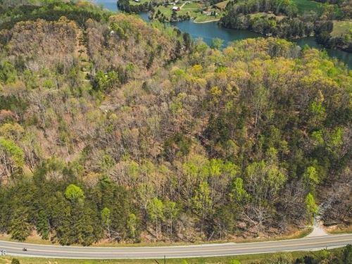 Lakefront Lot in Hardy VA : Hardy : Franklin County : Virginia