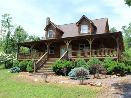 Log Home 2.5 Acres, Patrick County : Meadows Of Dan : Patrick County : Virginia