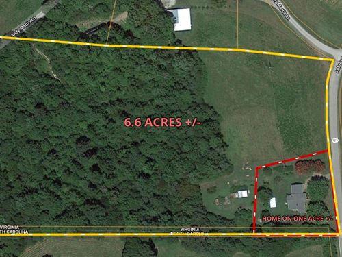 Country Home For Sale in Stuart VA : Stuart : Patrick County : Virginia