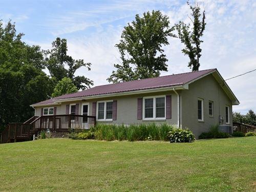 Ranch Home With Acreage Floyd VA : Willis : Floyd County : Virginia