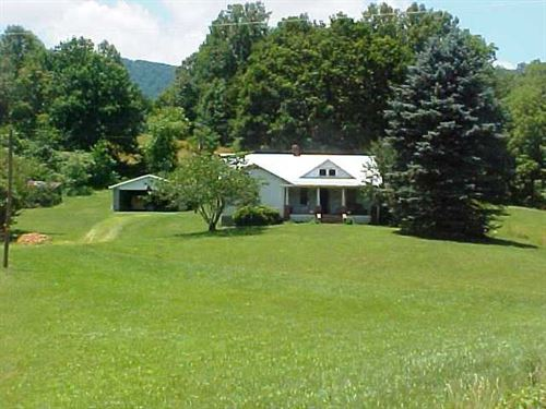 Country Home 37.5 Acres, Private : Woolwine : Patrick County : Virginia