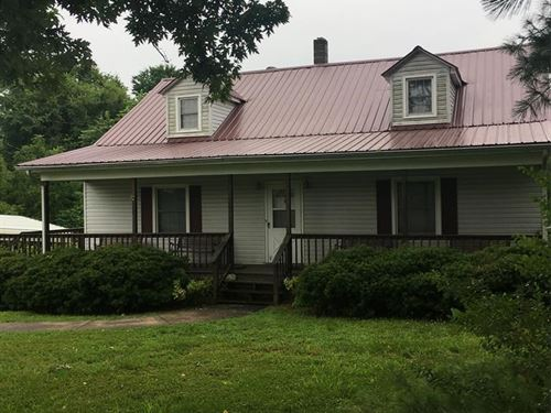 Mini Farm In Southern VA : Wylliesburg : Charlotte County : Virginia