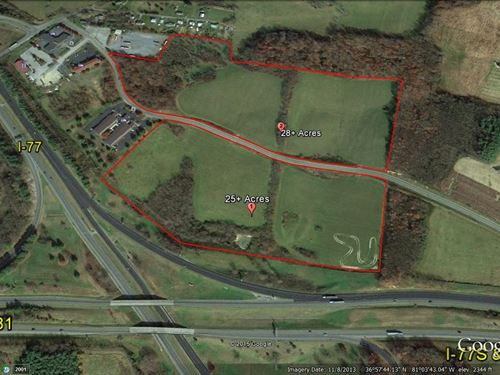 Commercial Property, 28.8 Ac : Wytheville : Wythe County : Virginia