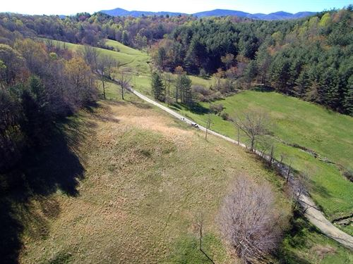 12.45 Acres Blue Ridge Mountains : Independence : Grayson County : Virginia