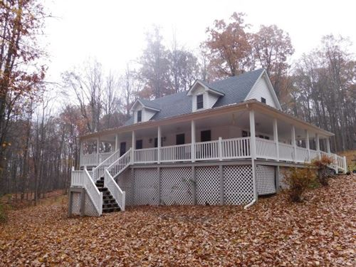 Cape Cod For Sale in Augusta, WV : Augusta : Hampshire County : West Virginia