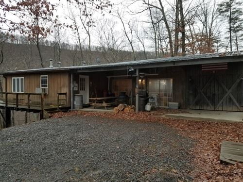 159 Acre Unique Mountain Hideaway : Burlington : Mineral County : West Virginia