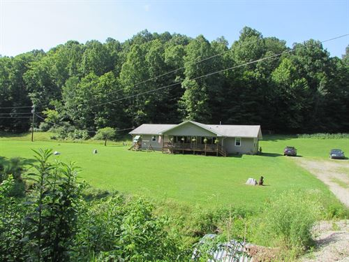 Country Home 109 Acres West : West Union : Doddridge County : West Virginia