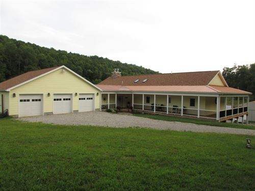 WV Scenic Hollow Farm Free Gas : West Union : Doddridge County : West Virginia