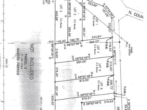 3.3 Acre Lot In Houston County, Al : Columbia : Houston County : Alabama