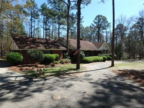 Residential Home 3.66 Acres : Eufaula : Barbour County : Alabama