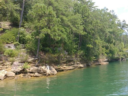 Building Lot Lewis Smith Lake : Houston : Winston County : Alabama