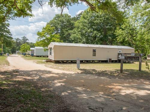 14 Unit Mobile Home Park South : Andalusia : Covington County : Alabama
