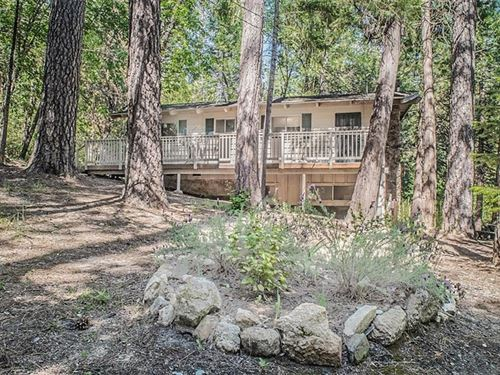 Mountain Retreat Above Lake : Berry Creek : Butte County : California