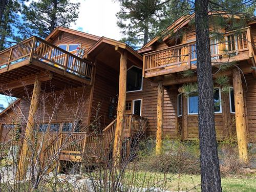 South Lake Tahoe Mountain Home : South Lake Tahoe : El Dorado County : California
