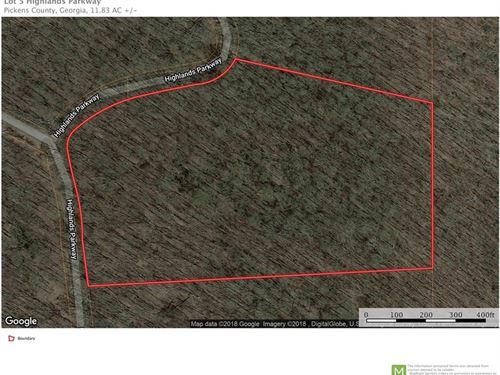 11.83 Acres, Georgian Highlands : Jasper : Pickens County : Georgia