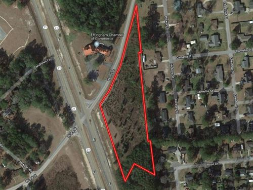 3.5 Undeveloped Acres Residential : Springfield : Effingham County : Georgia