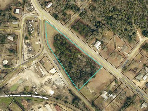 2.36 Acre Land Lot in Sylvania, GA : Sylvania : Screven County : Georgia