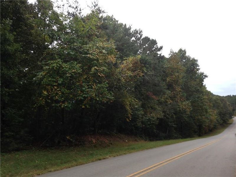 1.84 Wooded Acre Lot : Talking Rock : Gilmer County : Georgia