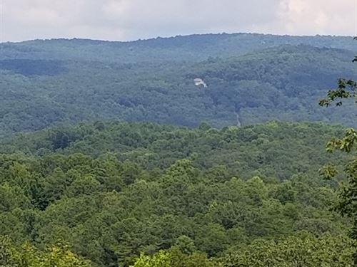 North Georgia Mountain View Lot : Talking Rock : Pickens County : Georgia