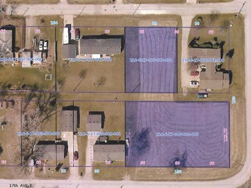 Residential Building Lot Albia IA : Albia : Monroe County : Iowa