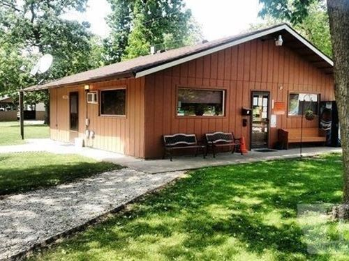 Home, With Campground : Keokuk : Lee County : Iowa