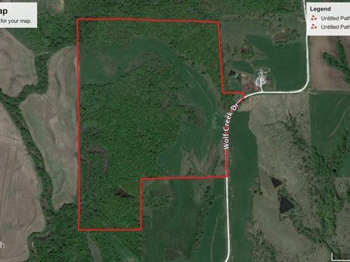 Union County Iowa Hunting Land : Lorimor : Union County : Iowa