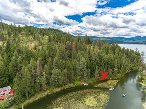 Idaho Recreational Waterfront Land : Rathdrum : Kootenai County : Idaho